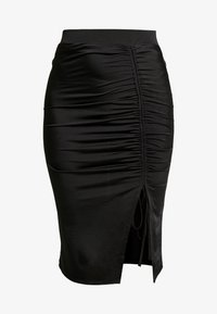 Nly by Nelly - DRAWSTRING SKIRT - Pencil skirt - black - 3