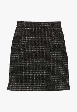 DELUXE SKIRT - Miniskjørt - black