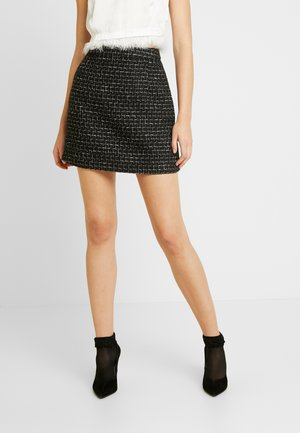 DELUXE SKIRT - Minijupe - black