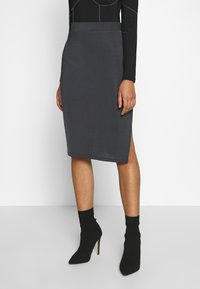 Nly by Nelly - SPORT CUT SKIRT - Gonna a tubino - gray - 0