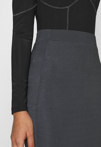 Nly by Nelly - SPORT CUT SKIRT - Gonna a tubino - gray - 4