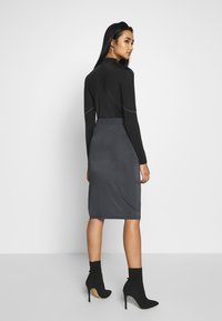 Nly by Nelly - SPORT CUT SKIRT - Gonna a tubino - gray - 2