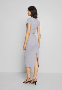 Nly by Nelly - CUT OUT SLIT SET - Maxi skirt - grey mélange - 2