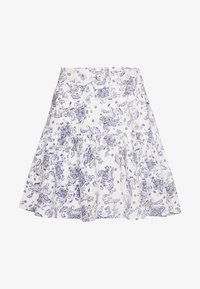 Nly by Nelly - TWO TO TANGO SKIRT - A-line skirt - white/blue - 0