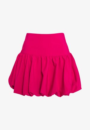 STRUCTURED BALLOON SKIRT - Áčková sukně - pink