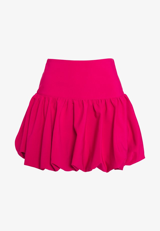 STRUCTURED BALLOON SKIRT - Spódnica trapezowa - pink