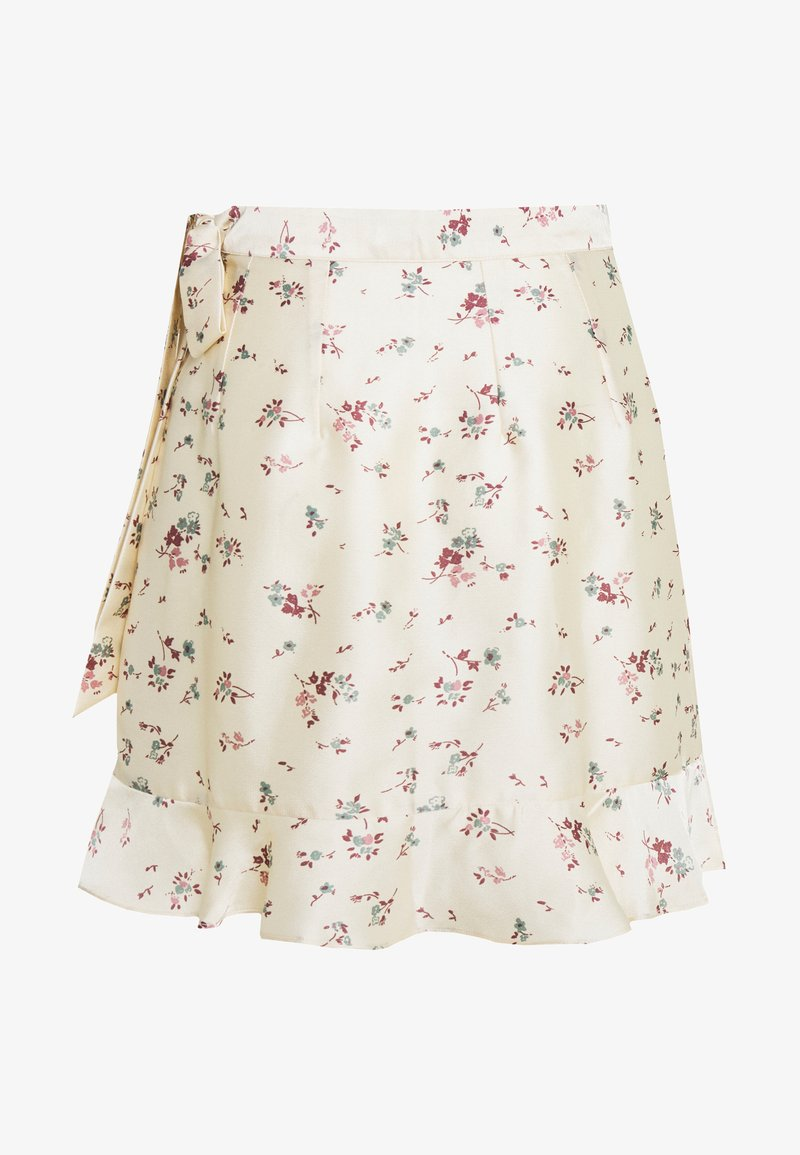 Nly by Nelly - WRAPPED FEELS SKIRT - Gonna a campana - multicolor