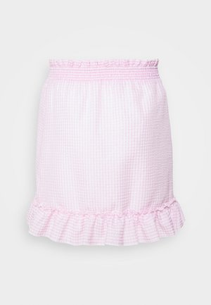 SWEET STRUCTURE SKIRT - Falda acampanada - pink