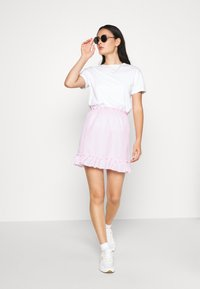 Nly by Nelly - SWEET STRUCTURE SKIRT - A-linjainen hame - pink - 1