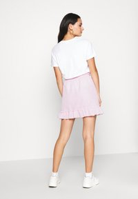 Nly by Nelly - SWEET STRUCTURE SKIRT - A-linjainen hame - pink - 2
