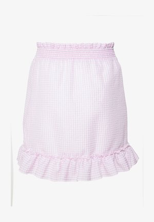 SWEET STRUCTURE SKIRT - Spódnica trapezowa - pink
