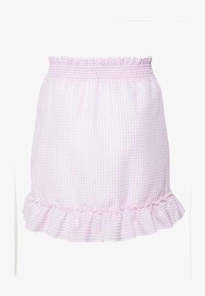 SWEET STRUCTURE SKIRT - A-line skirt - pink