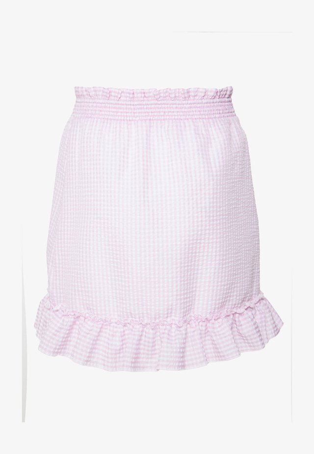 SWEET STRUCTURE SKIRT - A-linjekjol - pink