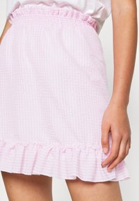 Nly by Nelly - SWEET STRUCTURE SKIRT - A-linjainen hame - pink - 4