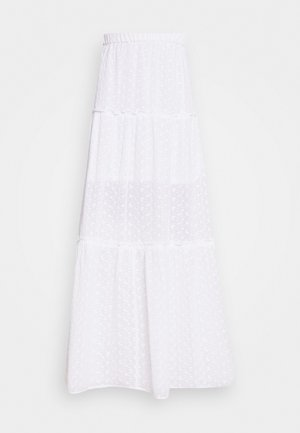 PIECE OF CAKE SKIRT - Maxi sukně - white