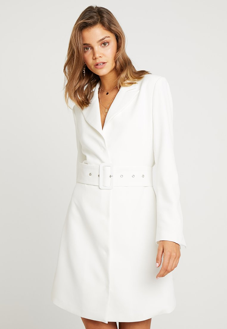 Nly by Nelly - SHARP SUIT DRESS - Etuikjole - white