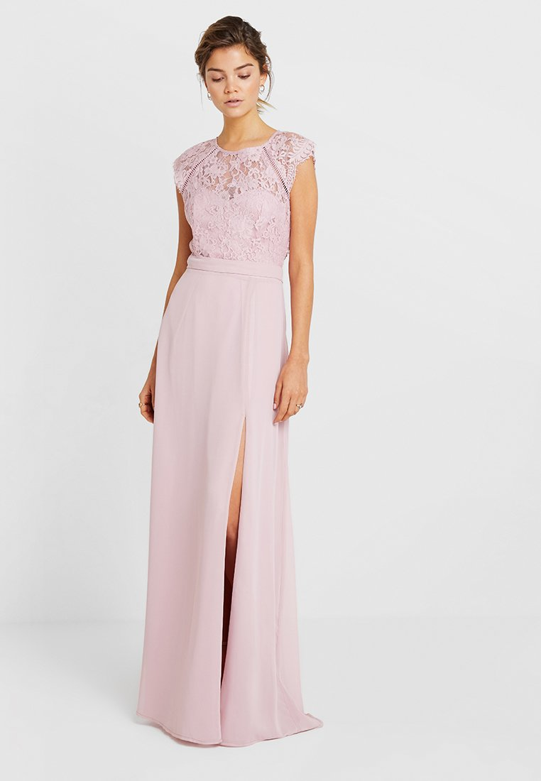 Nly by Nelly - CAP SLEEVE FLOWY GOWN - Iltapuku - rose