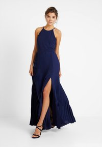 Nly by Nelly - PLEATED GOWN - Galajurk - navy - 2