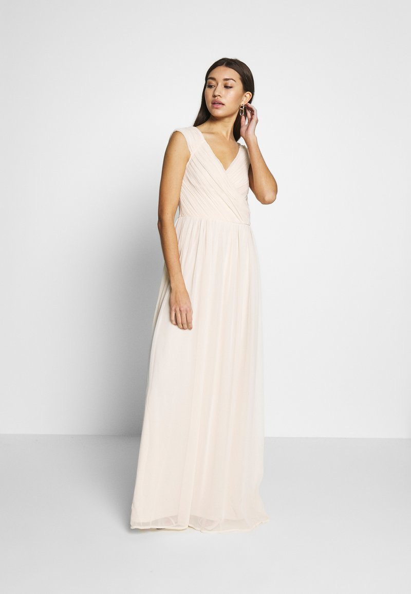 Nly by Nelly - CAP SLEEVE MAXI GOWN - Abito da sera - champagne