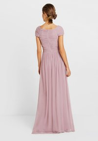 Nly by Nelly - CAP SLEEVE MAXI GOWN - Abito da sera - dark rose - 3