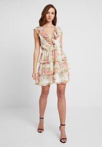 Nly by Nelly - SHEER FRILL DRESS - Kjole - multi-coloured - 1