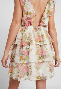 Nly by Nelly - SHEER FRILL DRESS - Kjole - multi-coloured - 5