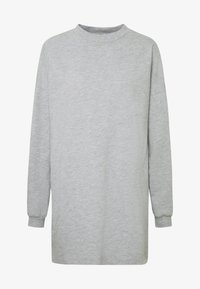 Nly by Nelly - THROUGH THE HOOD - Korte jurk - grey mélange - 3