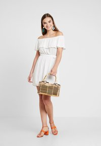 Nly by Nelly - SINGOALLA DRESS - Day dress - white - 1