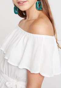 Nly by Nelly - SINGOALLA DRESS - Day dress - white - 4