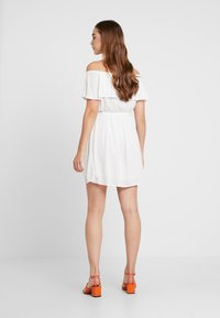 Nly by Nelly - SINGOALLA DRESS - Day dress - white - 2