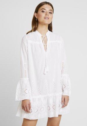BOHO TUNIC DRESS - Korte jurk - white
