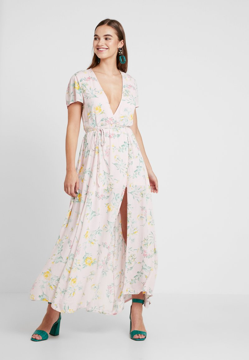 Nly by Nelly - LOVELY LONG DRESS - Maxi-jurk - multi-coloured