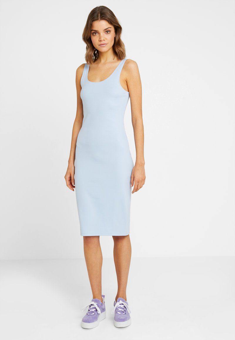 Nly by Nelly - PERFECT MIDI DRESS - Etuikjoler - blue