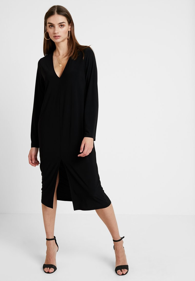 Nly by Nelly - HOPE DRESS - Maxi dress - black
