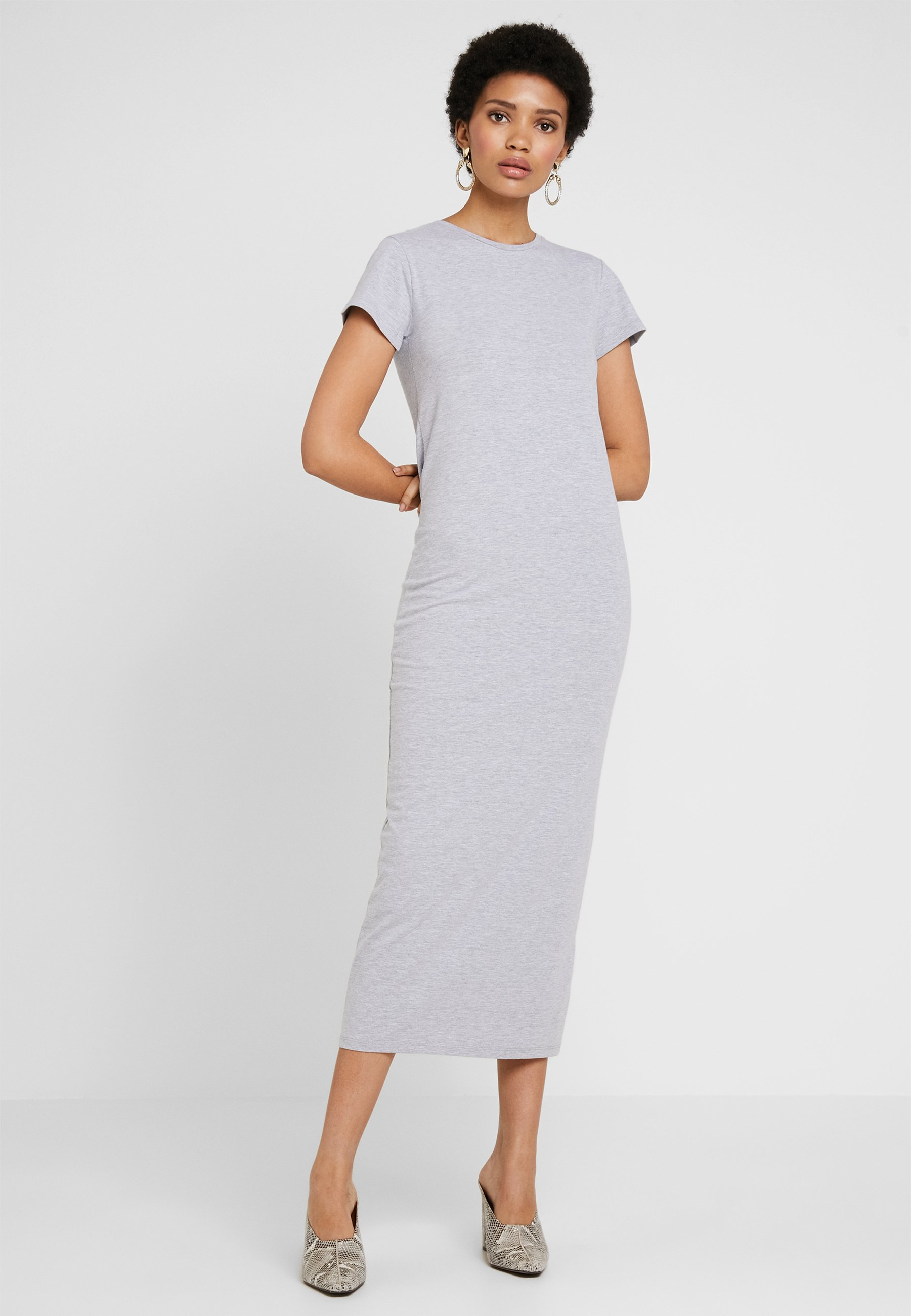 Melange By Nelly DressRobe Longue Grey Mélange Maxi Tee Nly yvbf6gY7