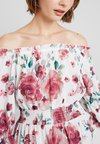 Nly by Nelly - FRILL OFF SHOULDER DRESS - Vestido informal - multi-coloured