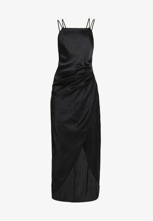 STRAPPY DETAIL GOWN - Společenské šaty - black