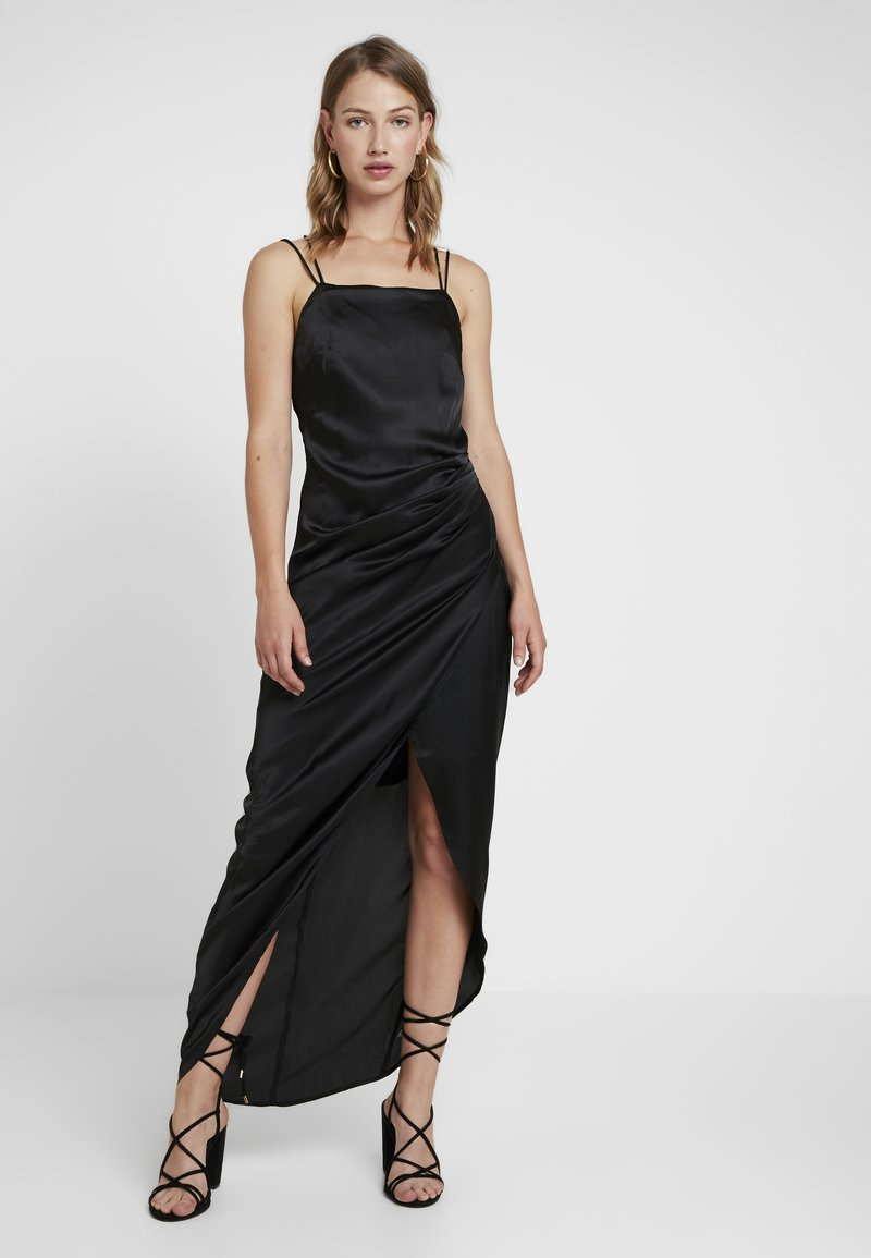 Nly by Nelly - STRAPPY DETAIL GOWN - Robe de cocktail - black