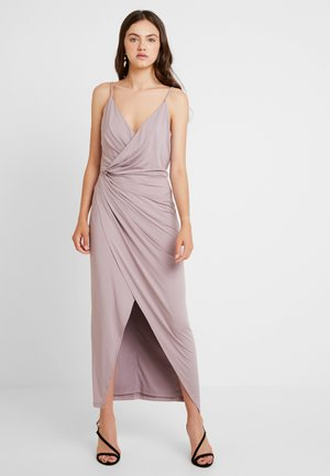 TWISTED SLIP GOWN - Maxikjole - lilac