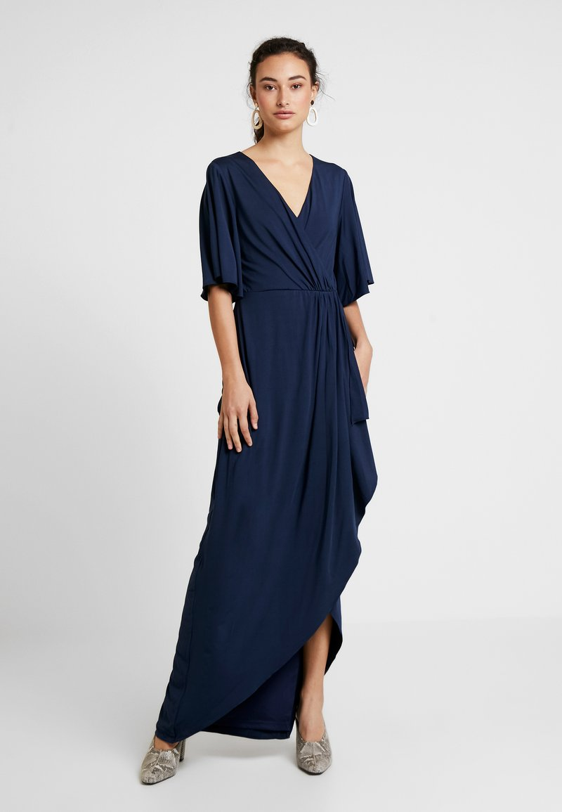 Nly by Nelly - DRAPY WRAP GOWN - Ballkjole - navy