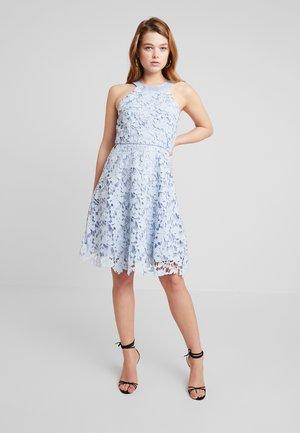 SCALLOP DRESS - Cocktailklänning - light blue