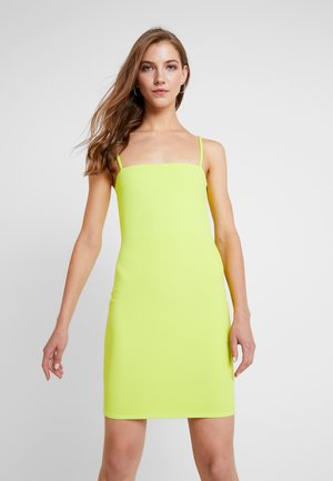 BASIC STRAP DRESS - Tubino - lime