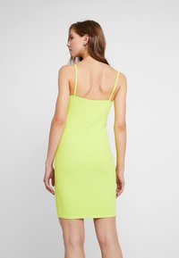 Nly by Nelly - BASIC STRAP DRESS - Robe fourreau - lime - 3