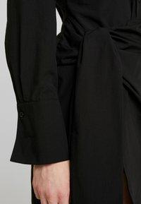 Nly by Nelly - WRAPPED DRESS - Košilové šaty - black - 6