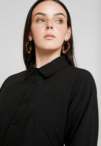 Nly by Nelly - WRAPPED DRESS - Košilové šaty - black - 4