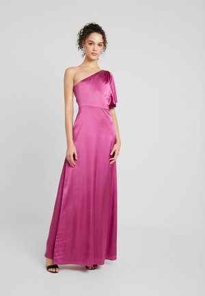 ONE SHOULDER DREAM GOWN - Iltapuku - fuchsia