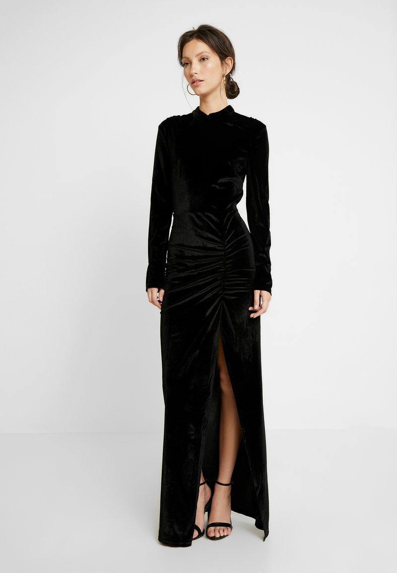 Nly by Nelly - DRAPY GOW - Společenské šaty - black