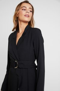 Nly by Nelly - FABULOUS SUIT DRESS - Robe fourreau - black - 4