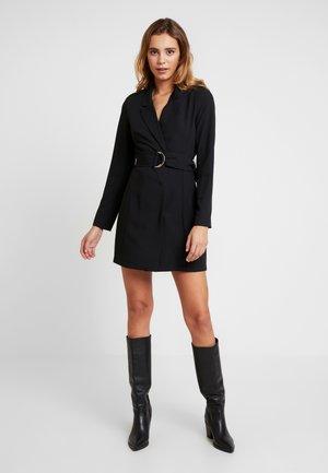 FABULOUS SUIT DRESS - Pouzdrové šaty - black