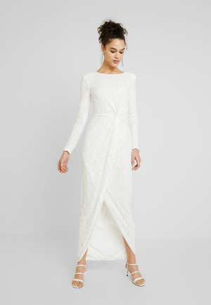 SEQUIN GOWN - Suknia balowa - white